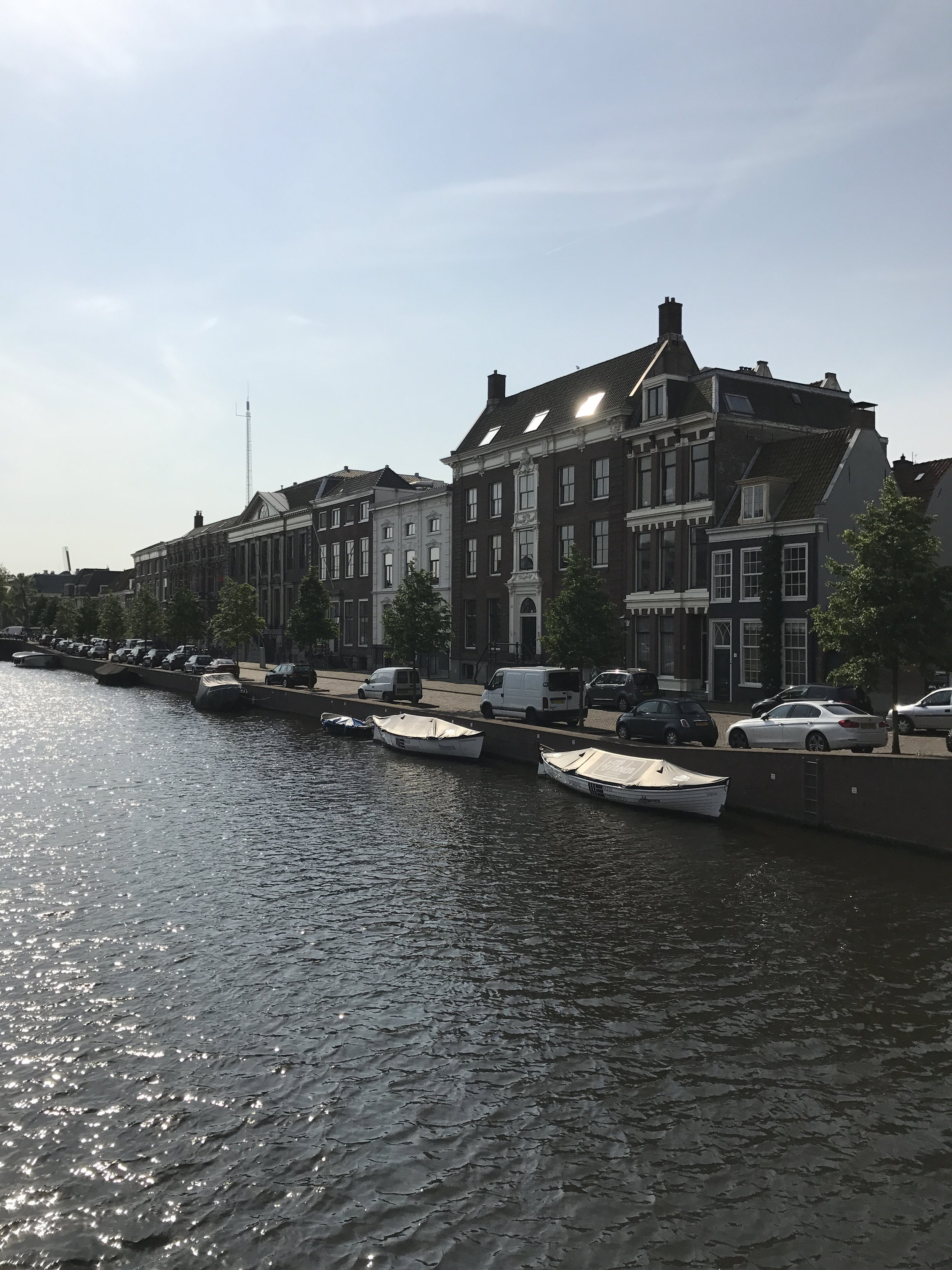More lovely architecture along the Haarlem canels ..
