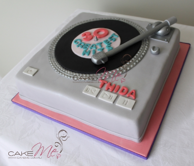 The record player we made for a client in 2010