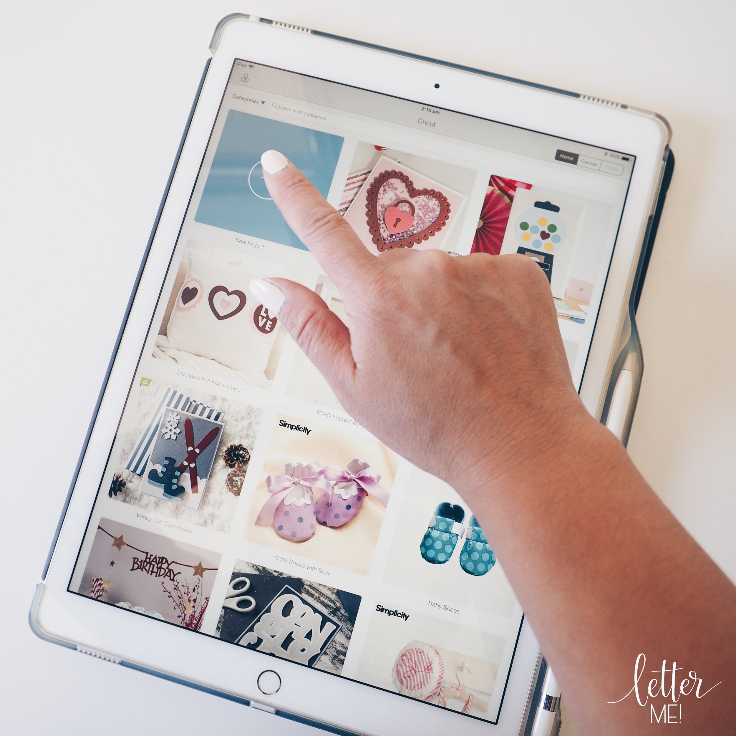 Introduction to Cricut — Letter Me!
