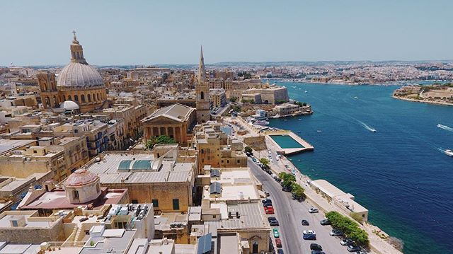 Loving Malta as always, first time with the drone here.