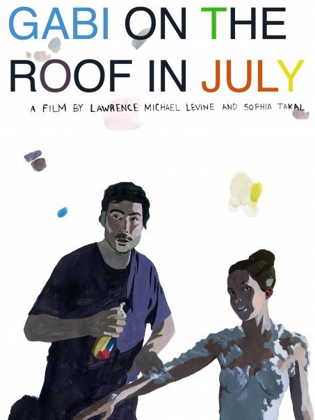 Gabi on the Roof in July