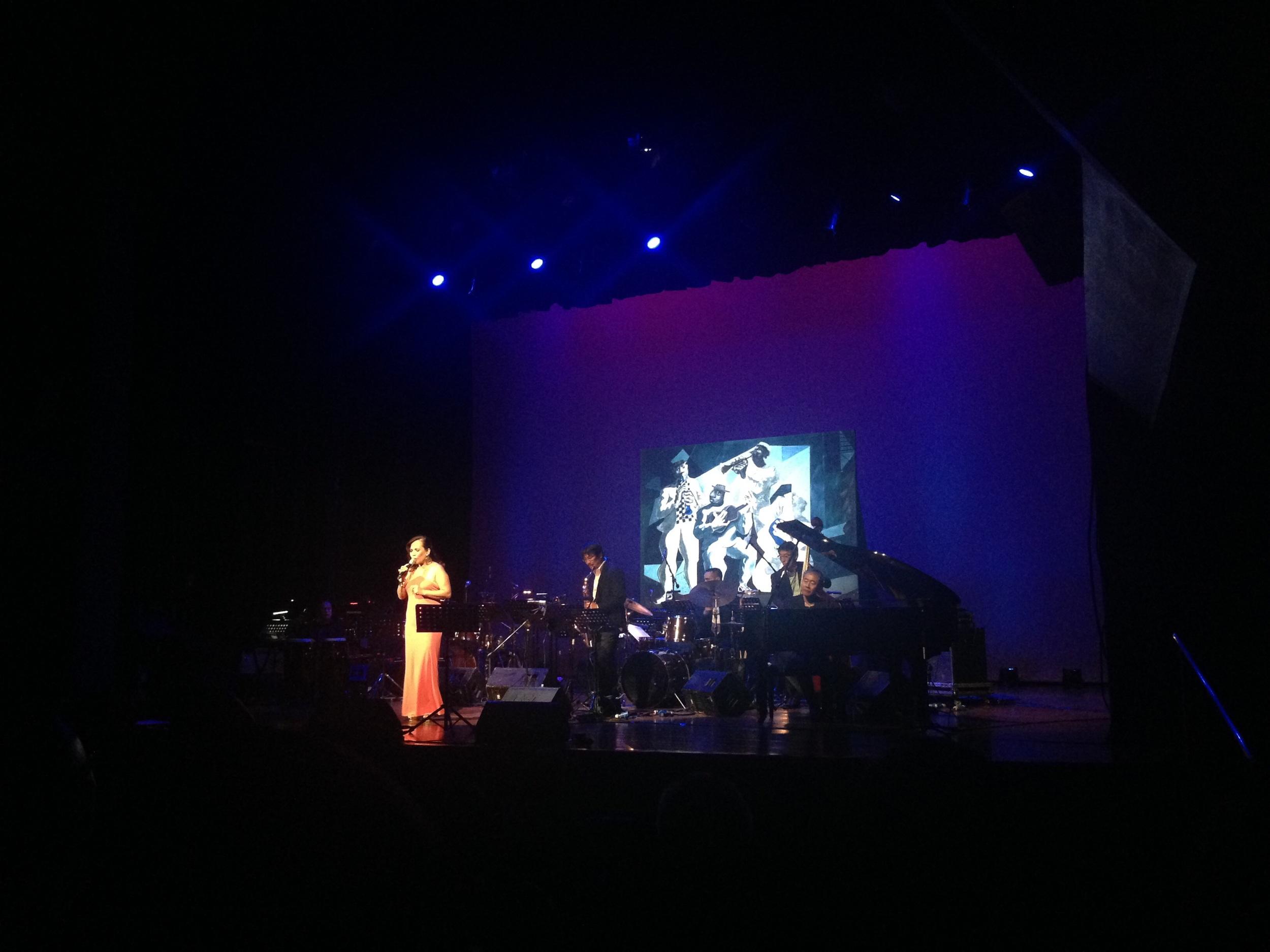 Jazz Diva Charito.