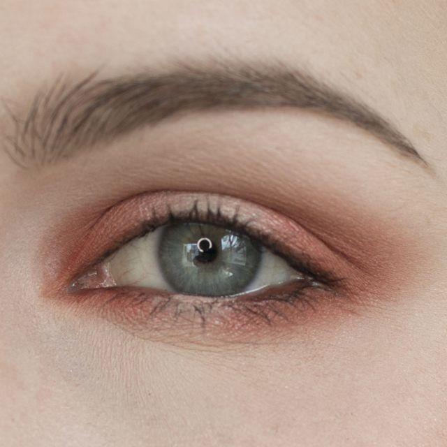 Orange and Copper Halo Eyeshadow Tutorial
