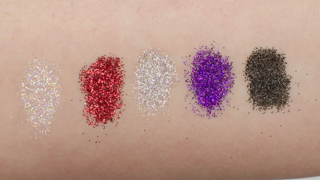 Violet Voss Violet's Secret Wepon Adhesive and Glitter Review