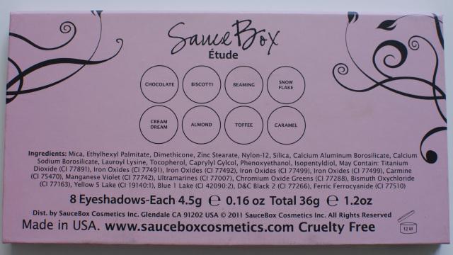 SauceBox Etude Palette Review