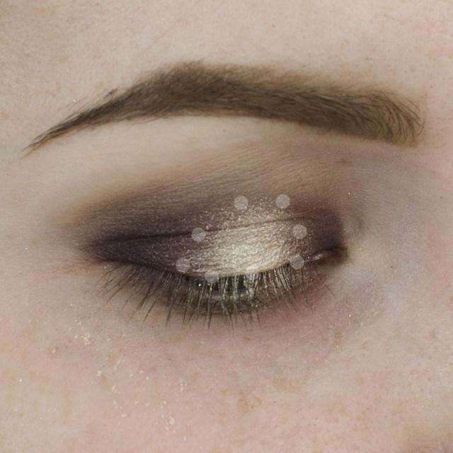Champagne and Purple Halo Eyeshadow Tutorial