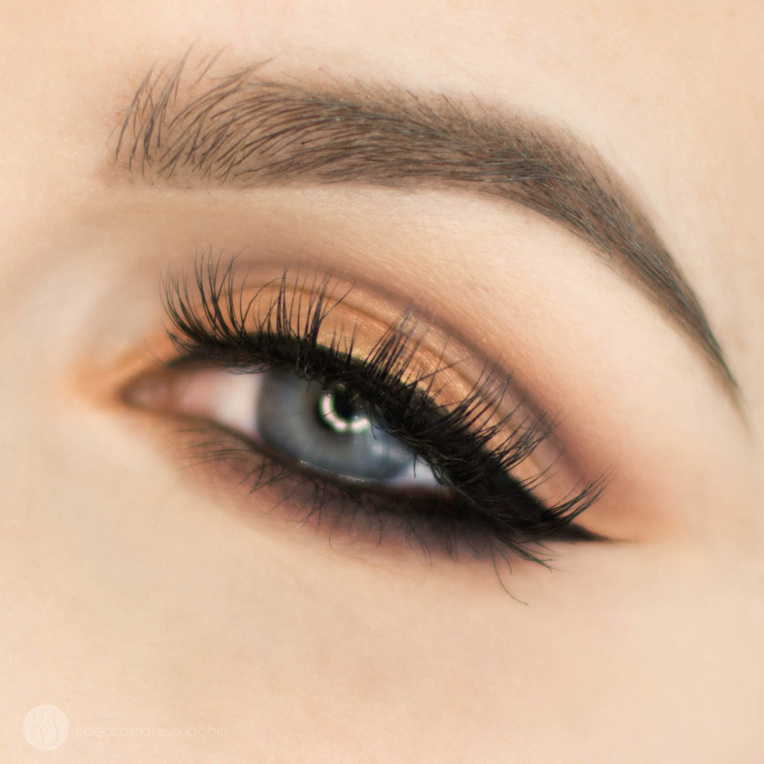 Purple and Gold Eyeshadow Fall Makeup Tutorial