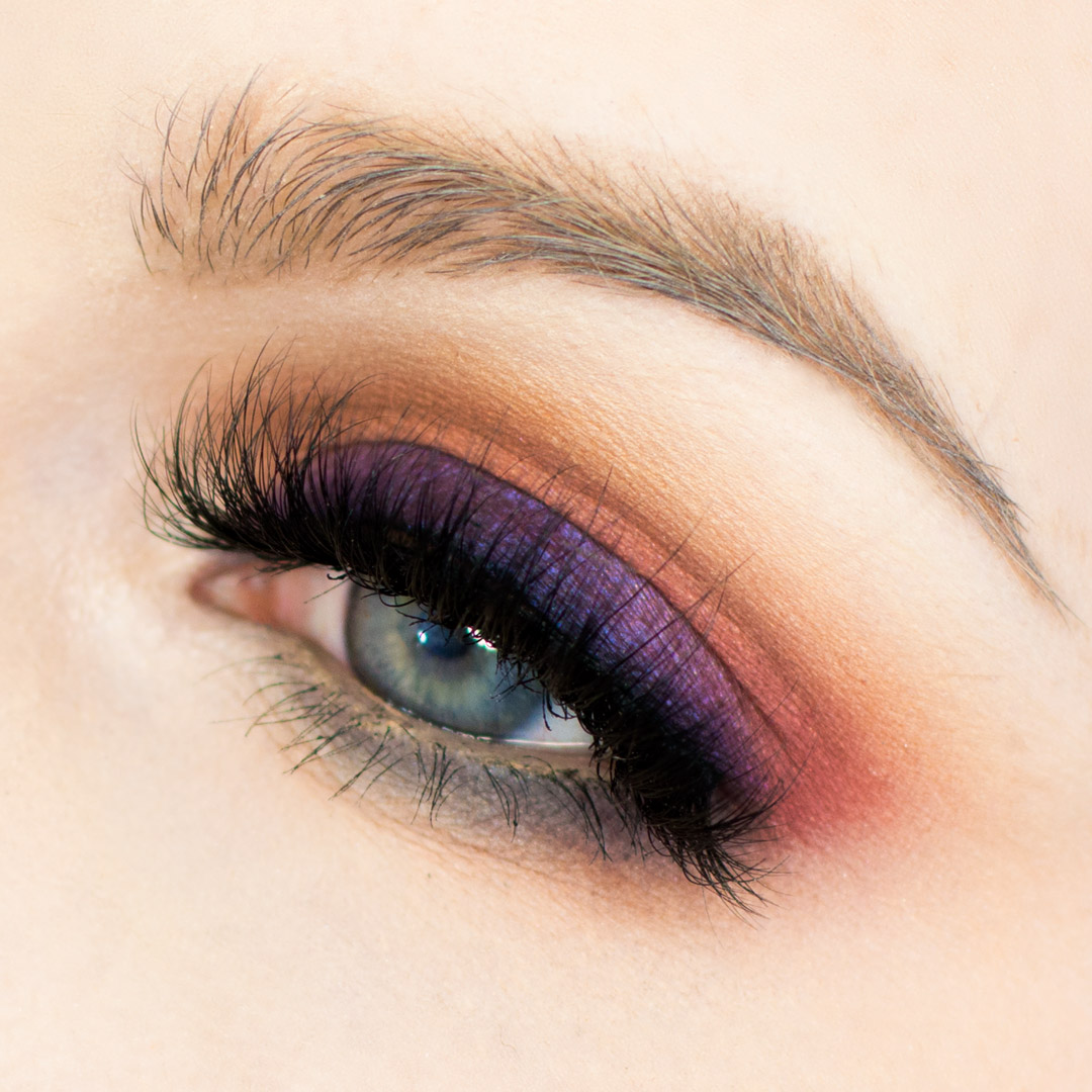 Colorful Makeup Tutorial using Melt Cosmetics Stacks
