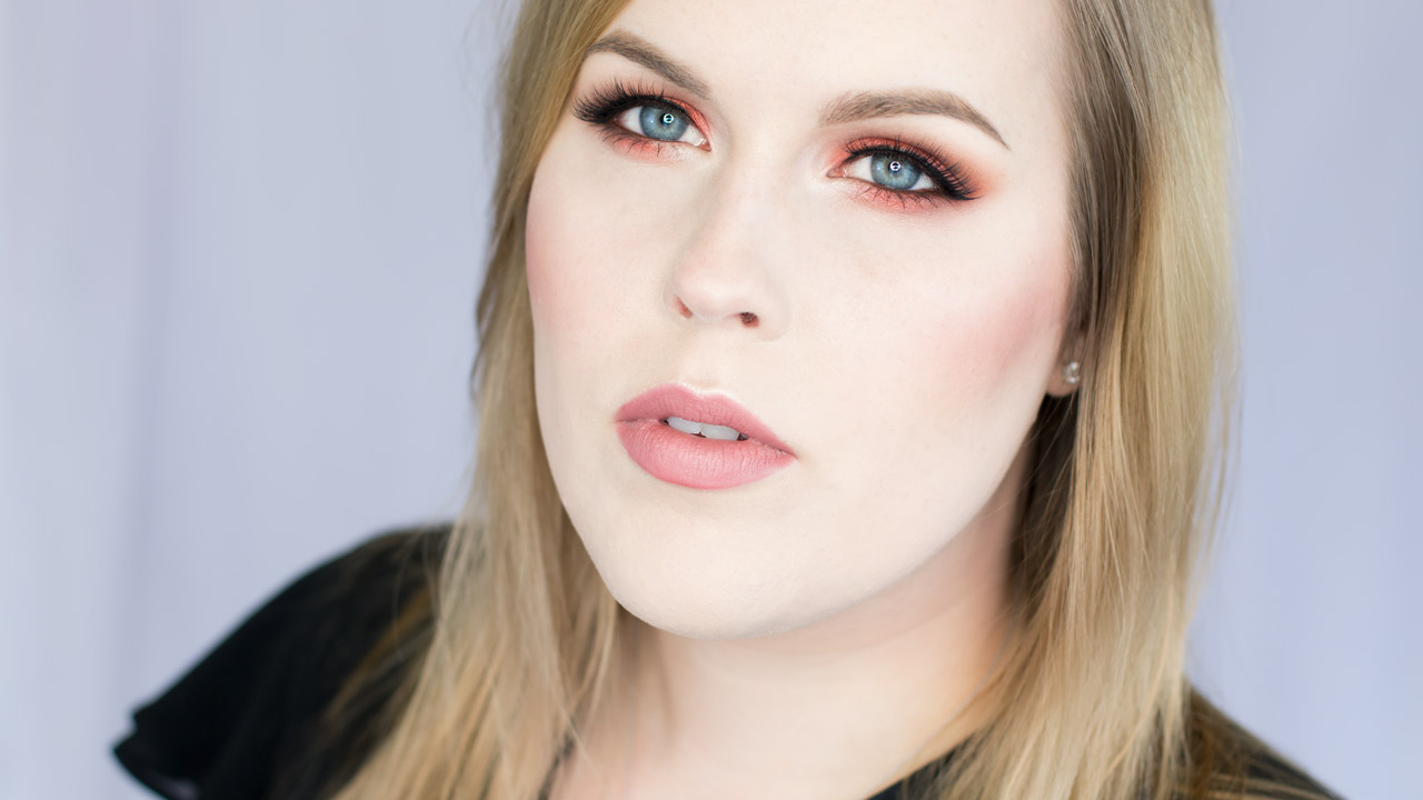 Orange and Copper Eye shadow Tutorial