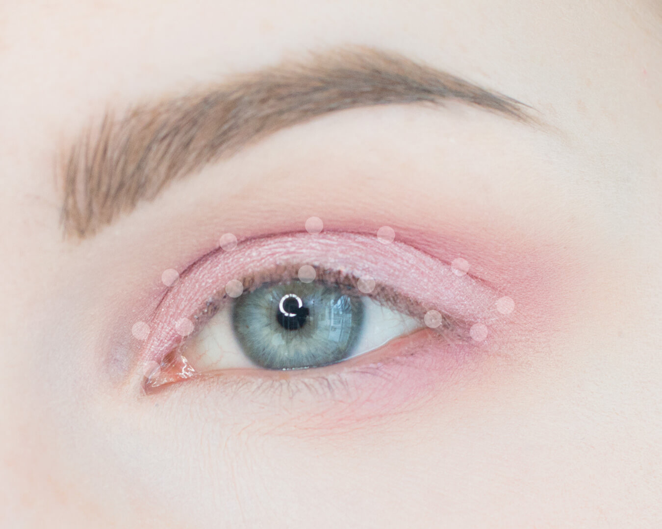 Petal Pink and Minty Greens Makeup Tutorial Step 3