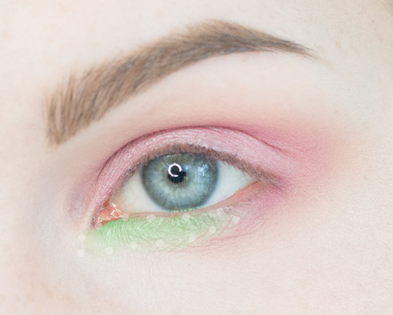 Petal Pink and Minty Greens Makeup Tutorial Step 4