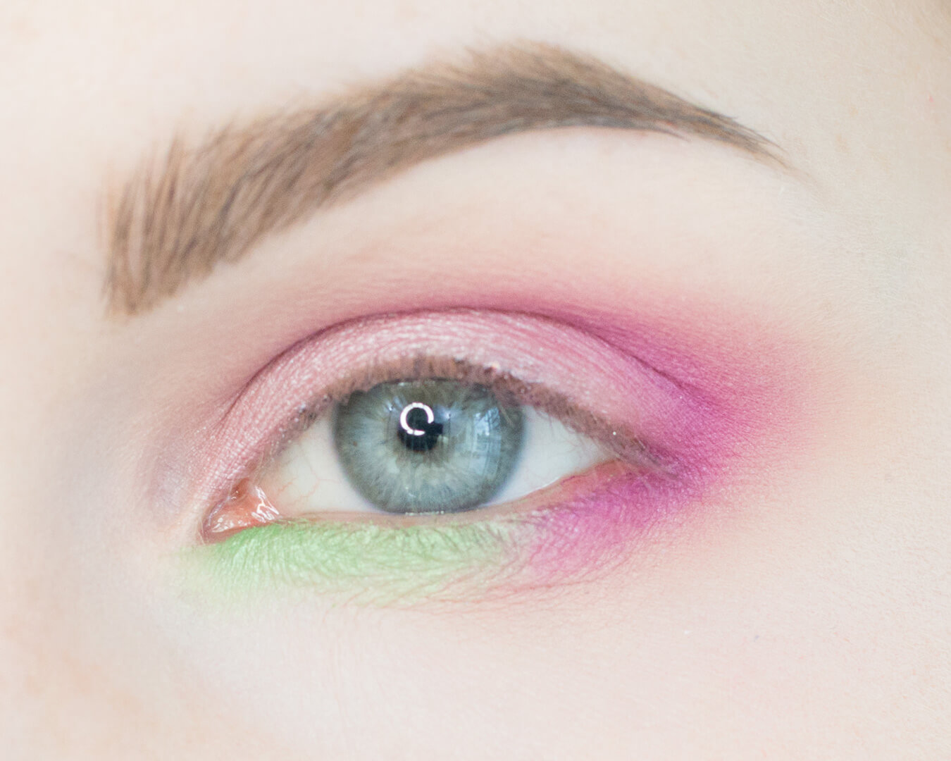 Petal Pink and Minty Greens Makeup Tutorial Step 5