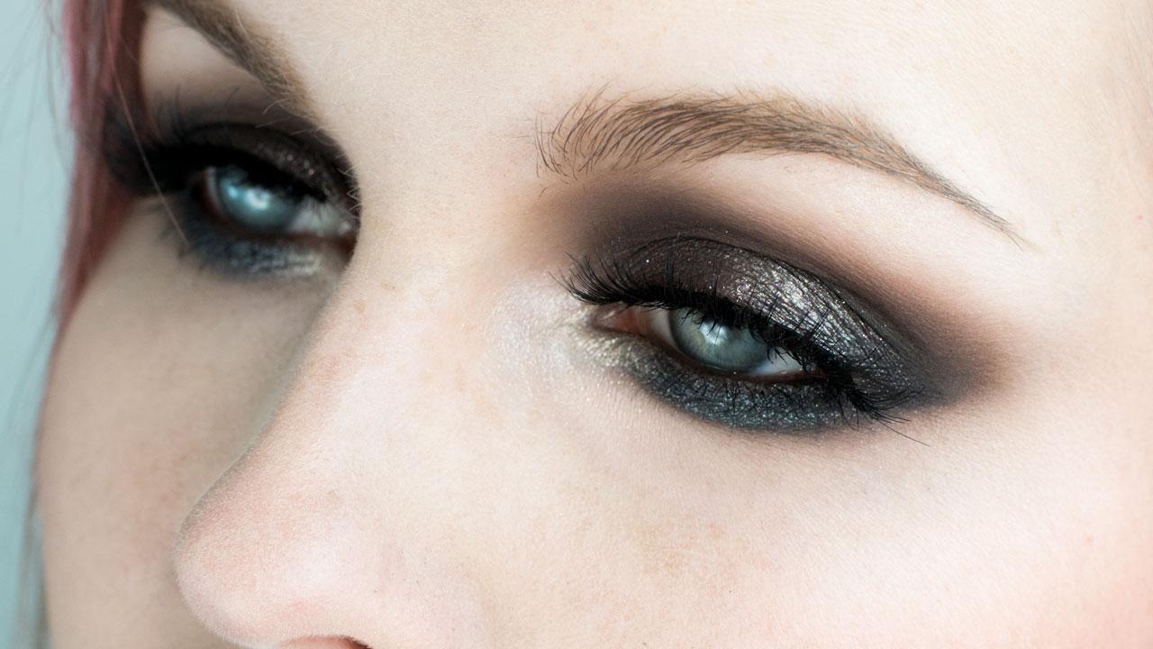 Melt Cosmetics Gun Metal Metallic Eye Makeup Tutoria