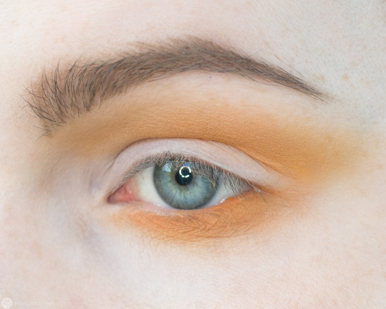 Orange and Yellow Eyeshadow Tutorial with Anastasia Beverlyhills Subculture Palette 5