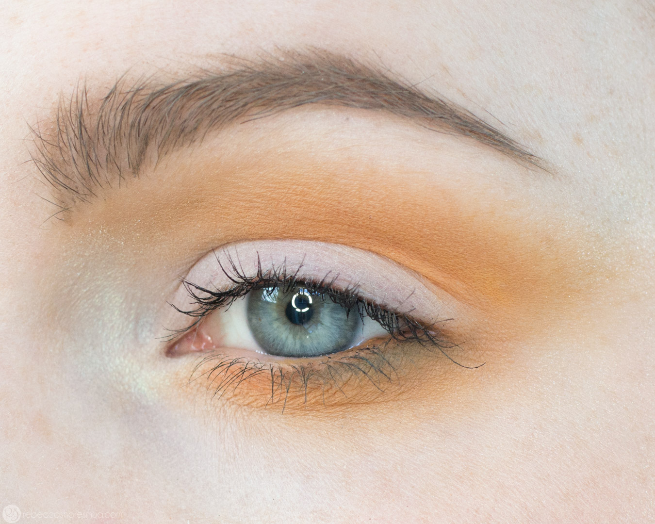 Orange and Yellow Eyeshadow Tutorial with Anastasia Beverlyhills Subculture Palette 7