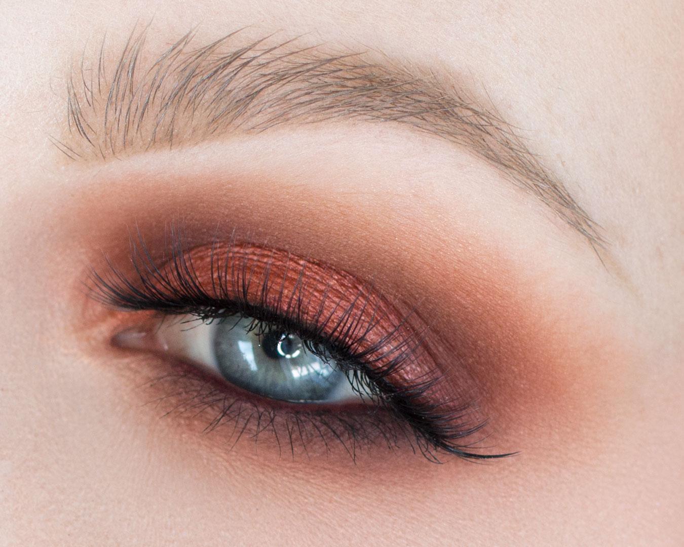 Heat Palette Eye Looks