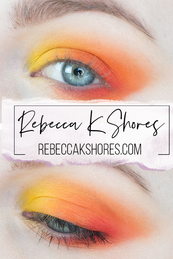 Pinterest How to Create a Red, Orange, Yellow Analogous Makeup with Color Theory