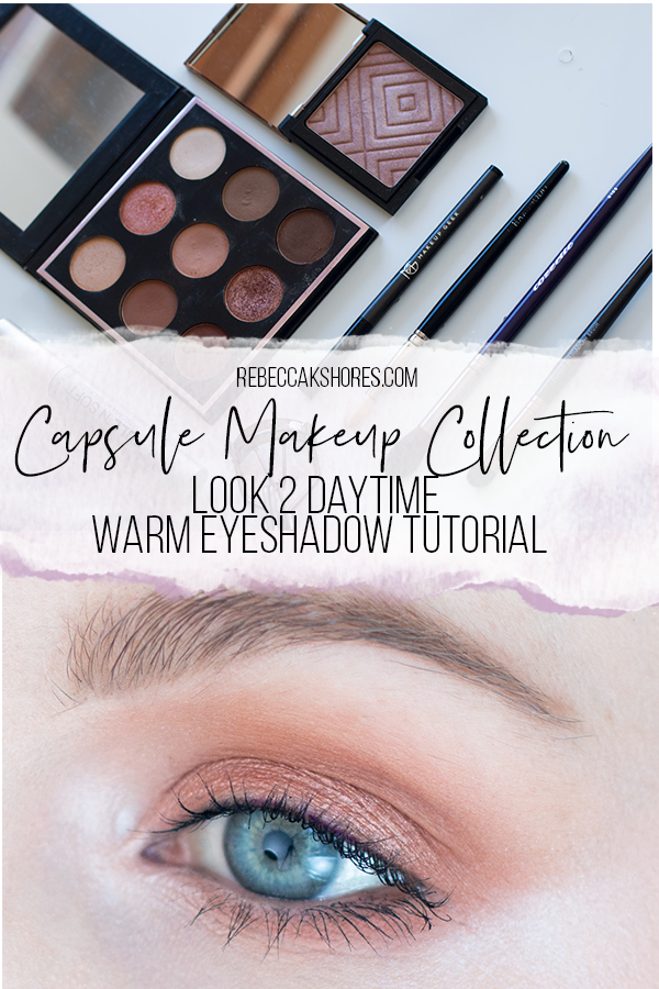 Daytime Warm Step-by-Step  Eyeshadow Tutorial Capsule Makeup Collection pintrest