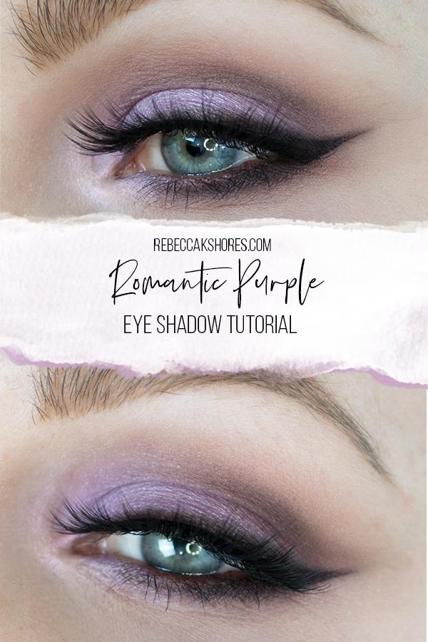 Romantic Purple Eye shadow Tutorial Featuring i•ENVY by KISS lashes