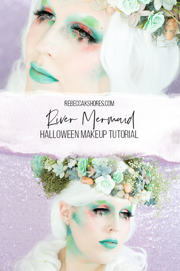 Halloween-Makeup-Tutorial River mermaid