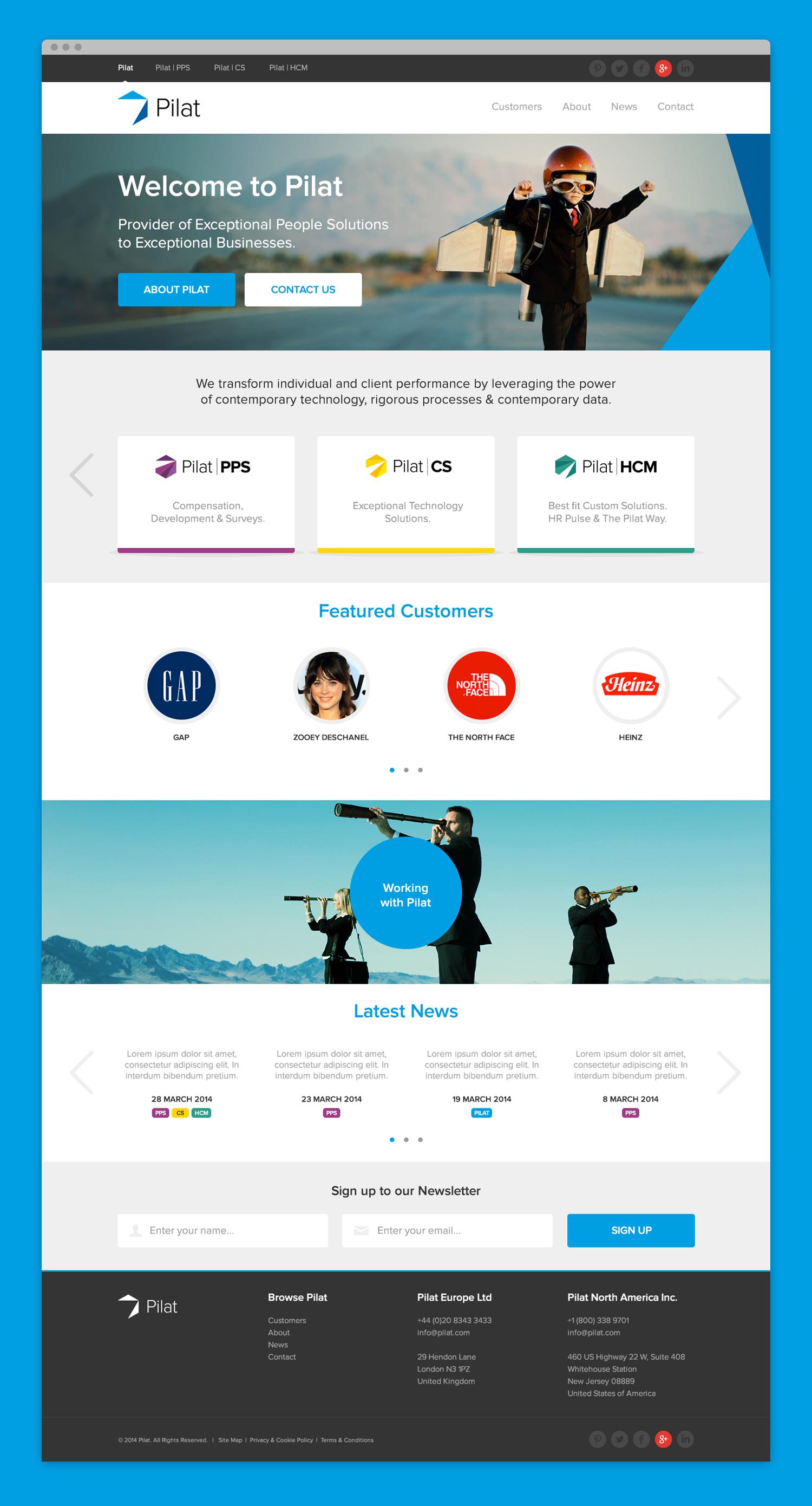 pilat-desktop-website