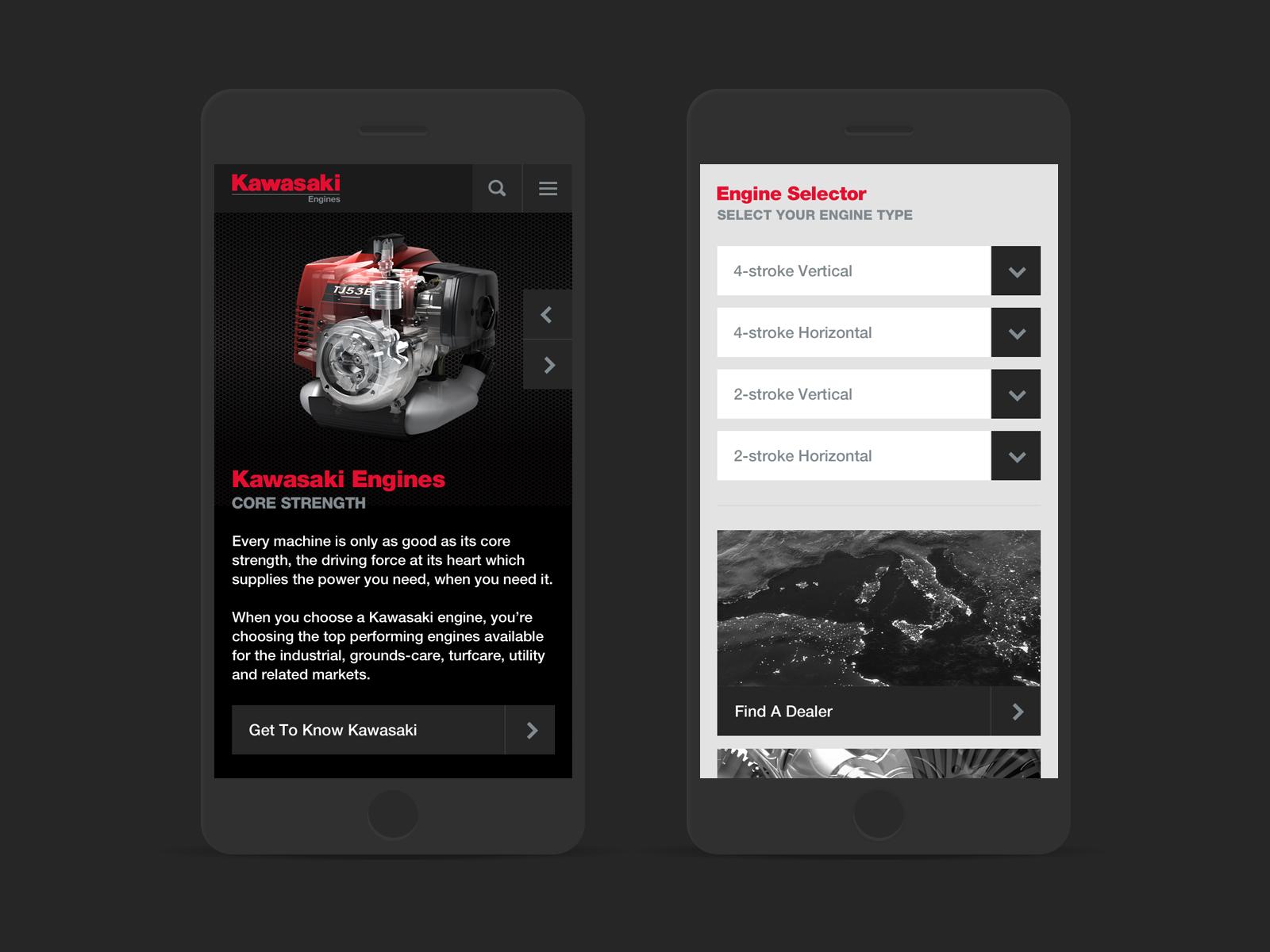 kawasaki mobile site