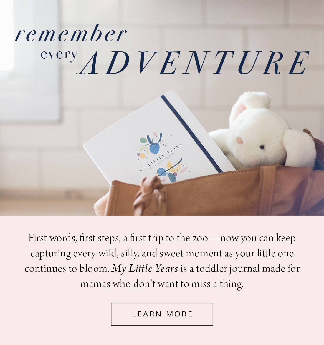 Email copy for a Baby Boy Bakery's  toddler journal —a follow-up companion to the popular baby journal.