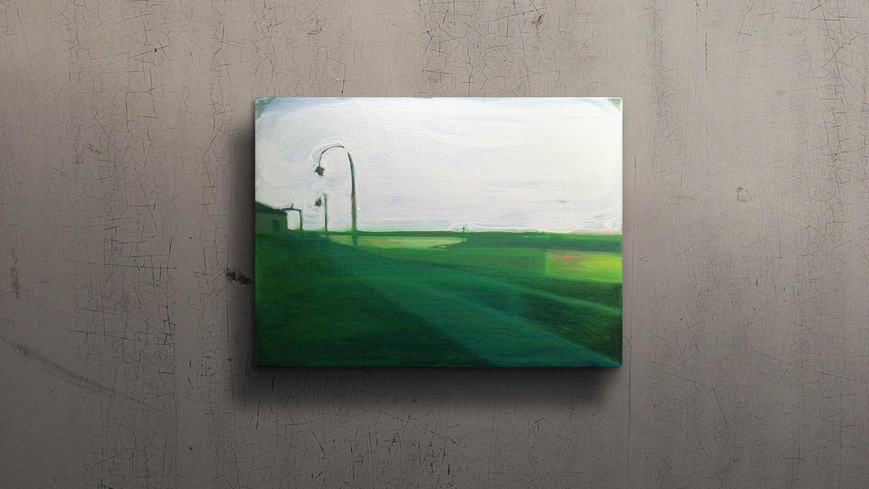 HARLINGEN HAVEN  30x40cm Oil on canvas Sold