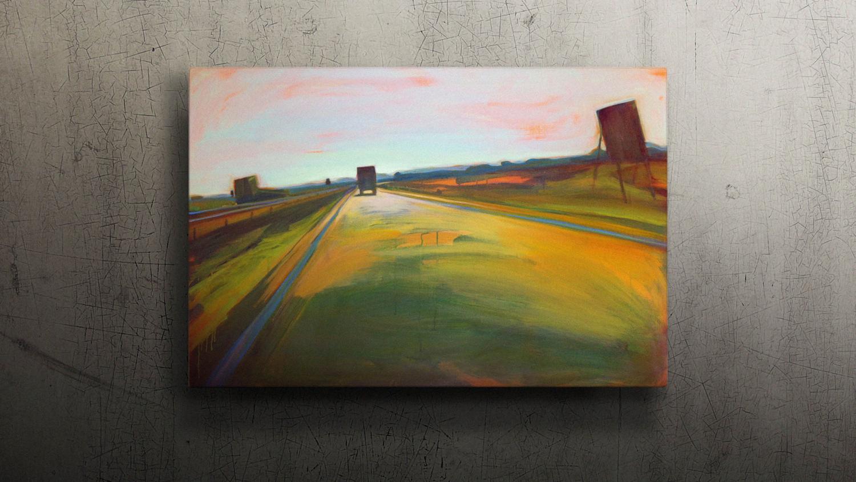 A6 NL 03  120x80cm Oil on canvas