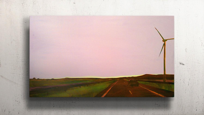 E22  120x80cm Oil on canvas  Sold