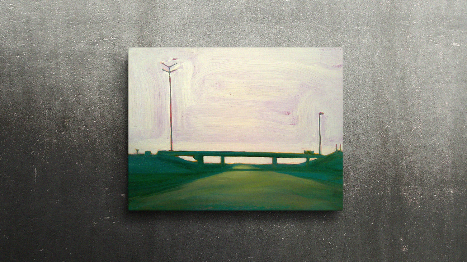 R2 LIEFKENSHOEK TUNNEL  40 X 30cm Oil on canvas