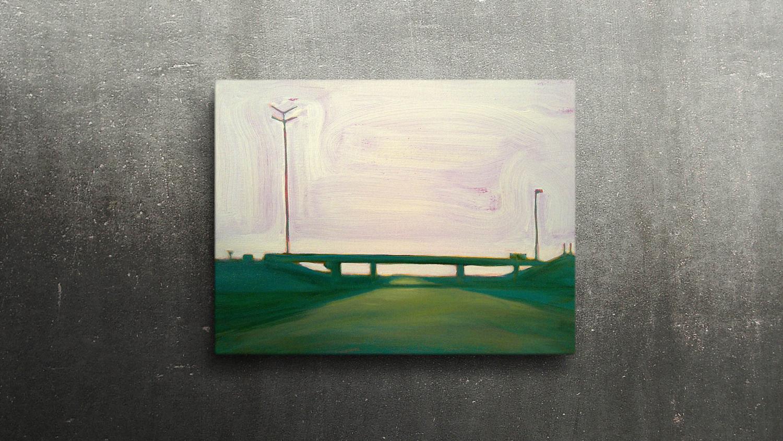 R2 LIEFKENSHOEK TUNNEL  40X30cm Oil on canvas