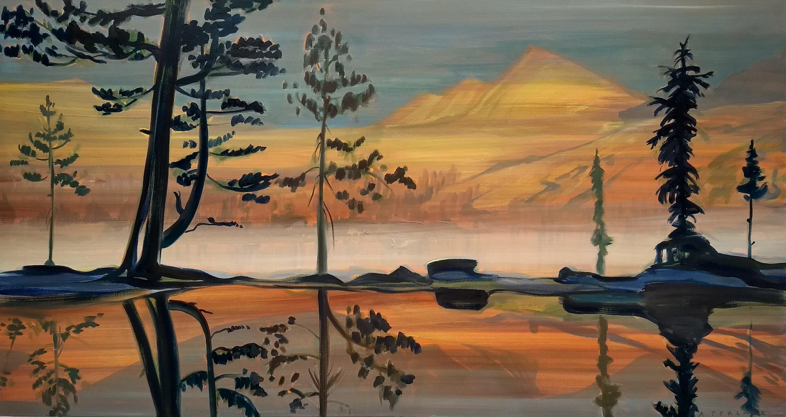 YOSEMiTE-2  80x150 cm oil on canvas
