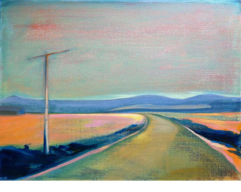 D57-FR-11  60X80 cm Oil on canvas