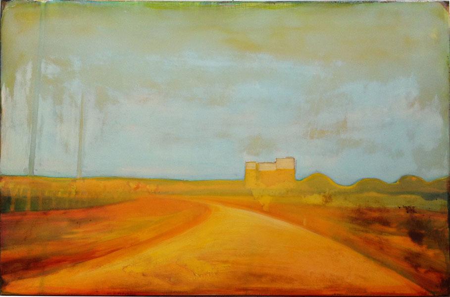 IJMUIDEN  80X120 cm acrylic and epoxy on canvas
