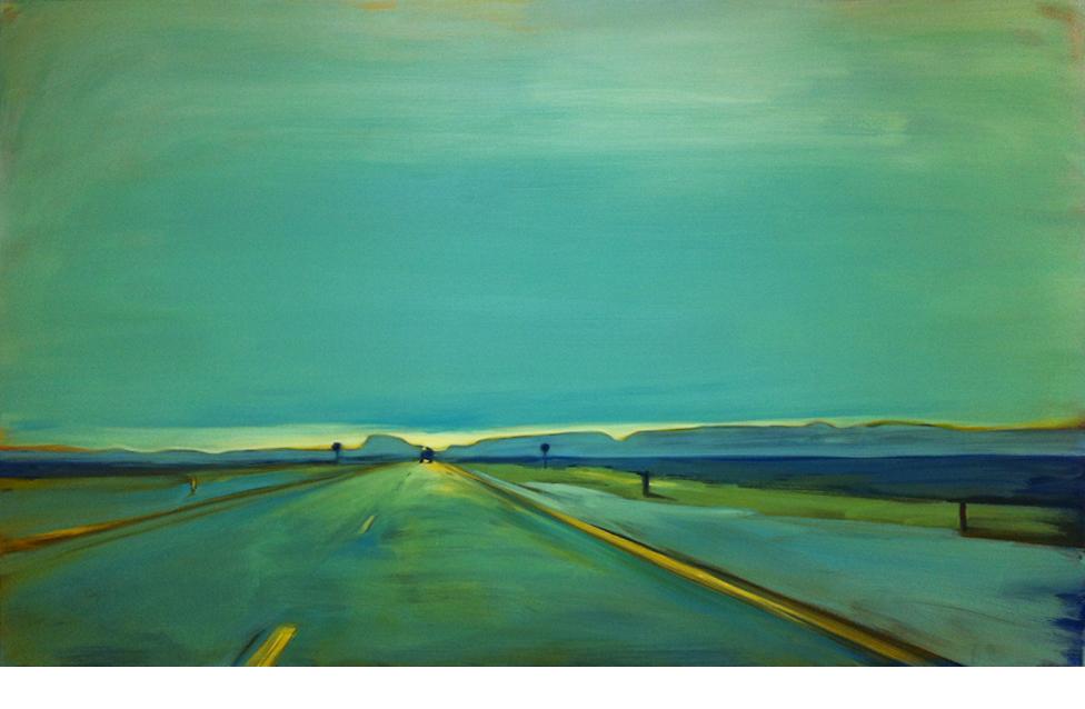 E22  120x200 cm oil on canvas  Sold