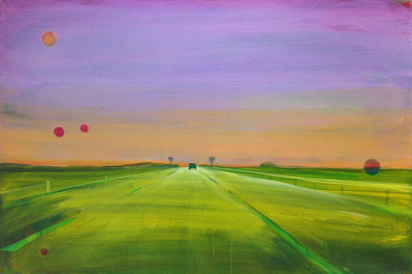 A6-NL-01  80X120 cm Oil on canvas
