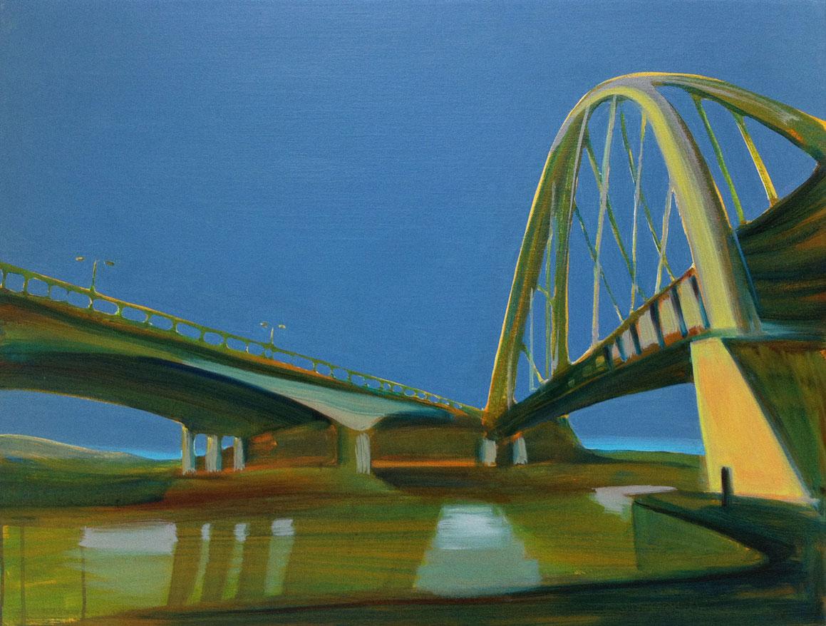 MAASVLAKTE  60X80cm Oil on canvas