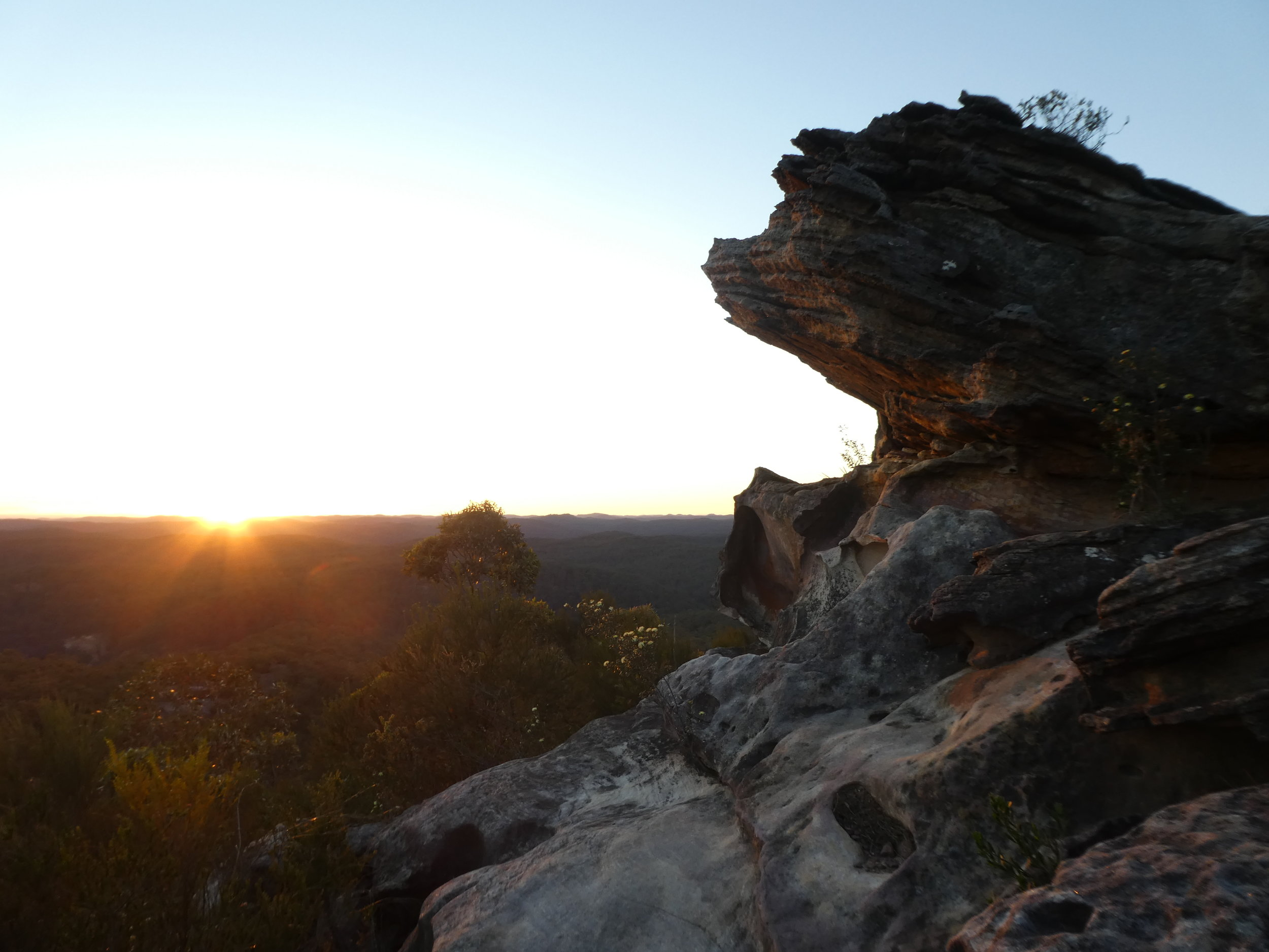 Sights of Mt Wondabyne