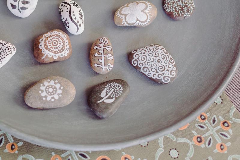 Steine und Psychotherapie