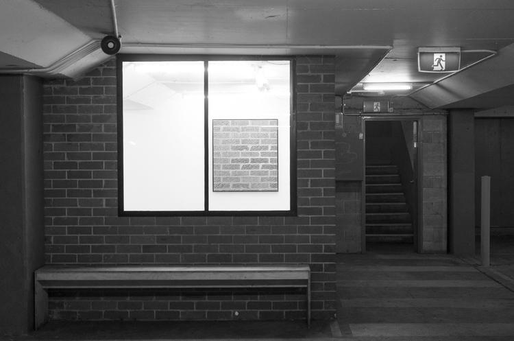 Installation view, 2014.