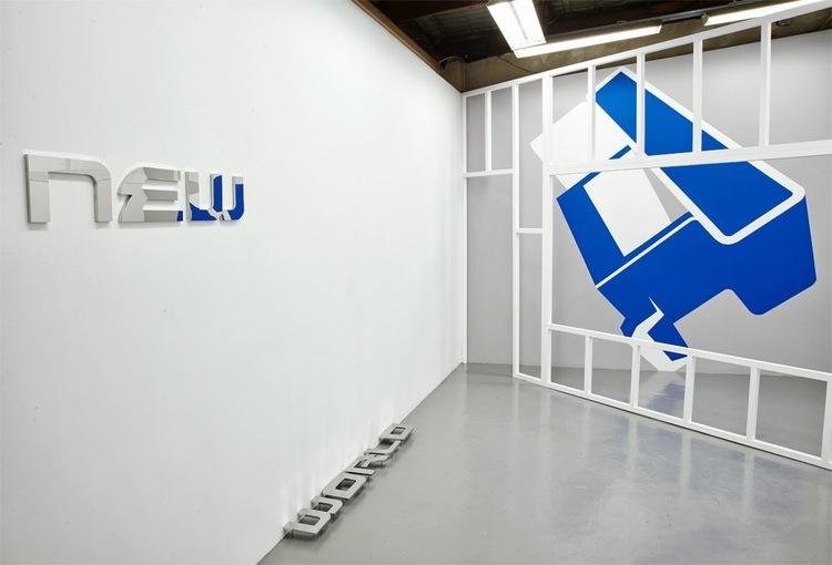 New World  (installation view), 2013.