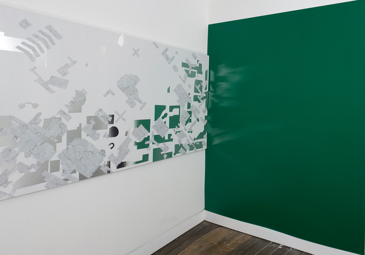 Directory  , 2011, installation view.