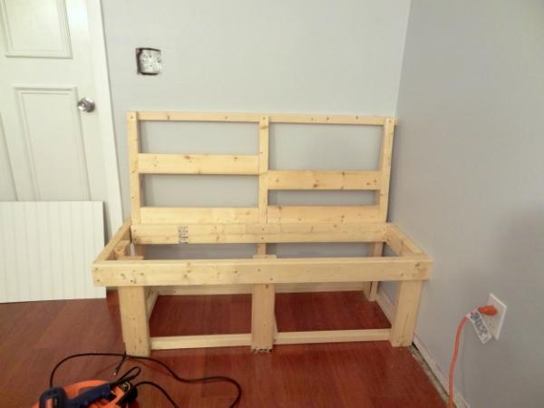 Built-In Bench Sneak Peek