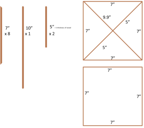 Card Holder Dimensions