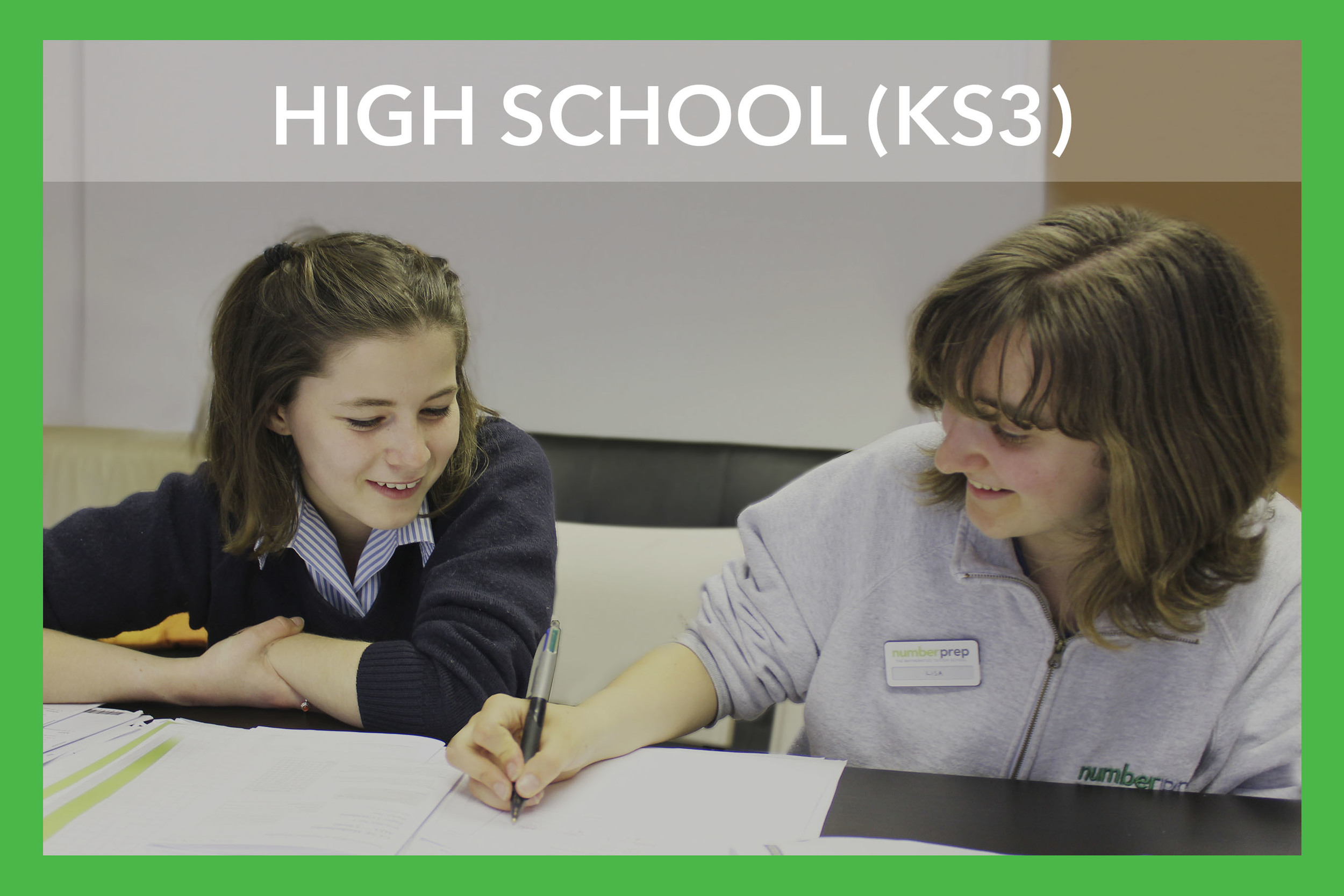 It is during secondary school that your child will begin to become much more of an independent worker. This does not, however, mean that they will not benefit from support.The mathematical concepts covered in high school may appear more complex but by tailoring our tutoring to fit with your child's needs whilst also working in line with the National Curriculum - your child will remain interested in the subject.   Topics - Number,Geometry, Measures, Statistics, Algebra