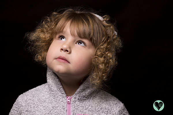 Little girl with multiple rare diseases