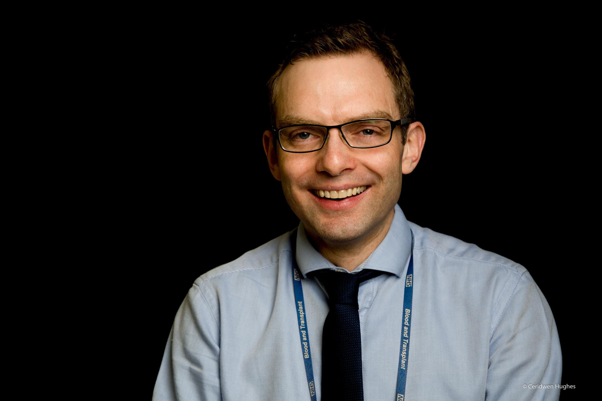 James Taylor Lab manager at Birmingham Children's Hospital