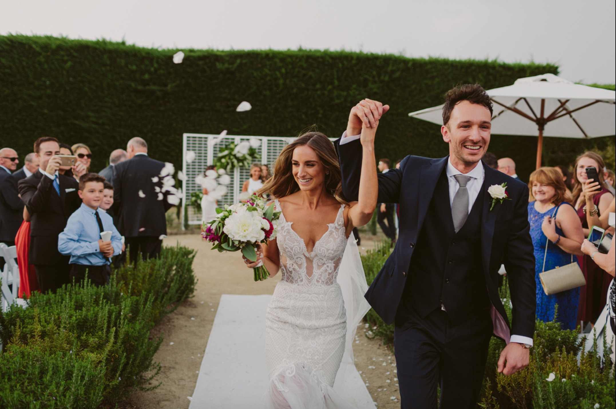 LIV + NATHAN / Beck Rocchi Photography / Coombe Yarra Valley / Sugar Bee Flowers