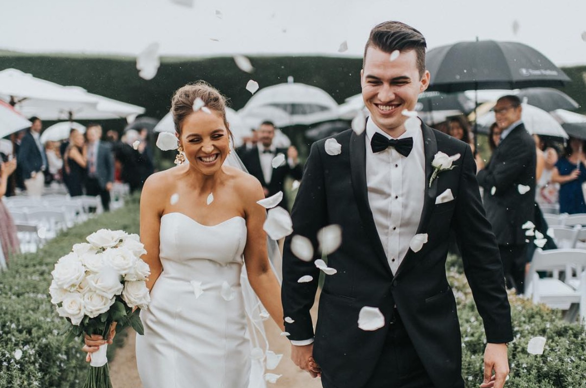 TAYLA + TODD / Sigrid Petersen / Coombe Yarra Valley / Sugar Bee Flowers